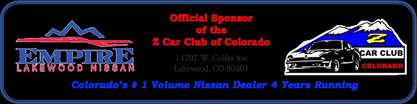 Official Club Sponsor Empire Nissan